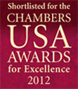 US Shortlist Badge 2012, Chaffetz Lindsey LLP